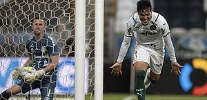 Copa do Brasil: Gómez garante vitória de Palmeiras sobre Grêmio no 1º jogo da final