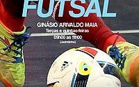 Prefeitura lança Escolinha de Futsal nesta terça-feira, 19