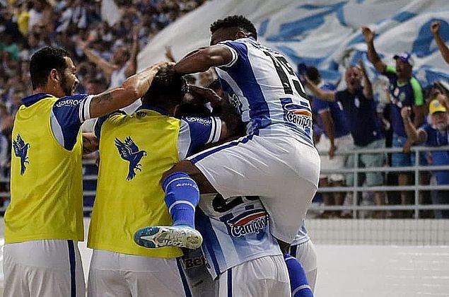 CSA vence em casa o Ceará, passa o Cruzeiro e deixa o Z-4
