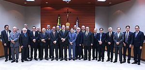 Presidente do TJ-AL participa de reunião de trabalho com ministro Dias Toffolli