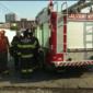 Bombeiros são acionados para conter incêndio em imóvel no Feitosa