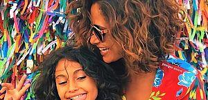 Camila Pitanga e filha são diagnosticada com malária e são atendidas no Hospital das Clínicas em São Paulo