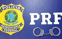 Foragido de Pernambuco, homem é preso após tenta fugir a pé em abordagem da PRF