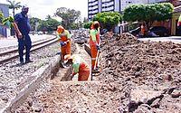 Infraestrutura inicia obras no sistema de drenagem na Avenida Walter Ananias