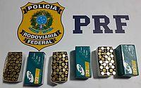 Foragido da Justiça é preso com diversas munições, na BR-101, em Rio Largo