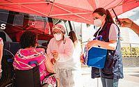 Ônibus da vacina atende no Residencial Maceió I, nesta quinta, 17