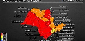 Governo de SP prorroga quarentena até 14 de julho; SP avança para amarela e interior regride