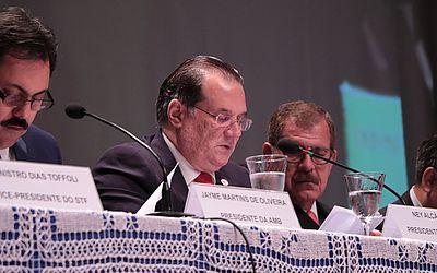 Congresso Brasileiro de Magistrados tem início com presença de vice-presidente do STF