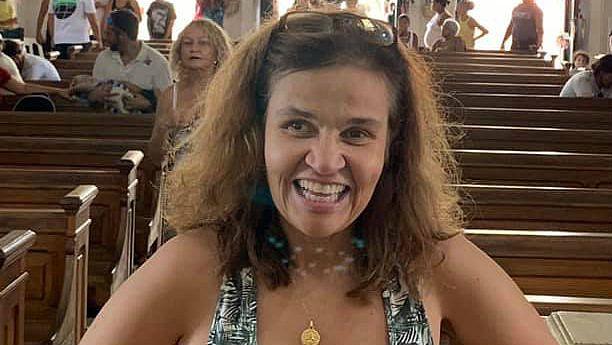 Atriz Claudia Rodrigues