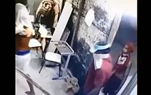 Suspeitos foram flagrados pelas câmeras