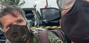 Resposta 'ácida' entre irmãos repórteres durante cobertura de acidente viraliza na web; assista