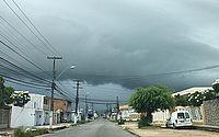 Previsão é de pancadas de chuva intercaladas com tempo seco em Maceió