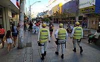 Ronda no Bairro fiscaliza medidas sanitárias nas áreas comerciais