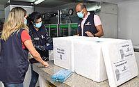 Alagoas recebe mais 138.060 doses de vacinas contra a Covid-19