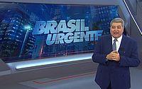 Datena surta e joga caneta contra câmera no Brasil Urgente