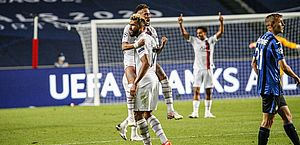Neymar dá passe para gol, e PSG vai à semifinal da Champions League