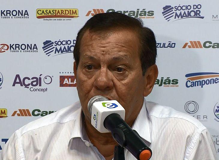 Rafael Tenório afirmou que CSA e Flamengo estão em grupos diferentes da Série A