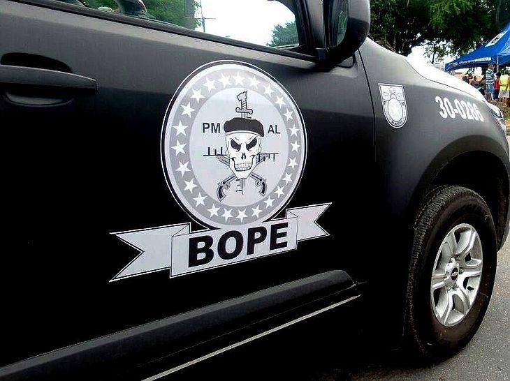 Bope trocou tiros com suspeito