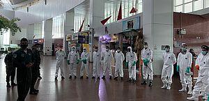 Aeroporto Internacional de Maceió passa por desinfecção nesta terça-feira