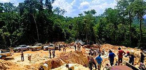Garimpos em MT põem em xeque capacidade de fiscalizar mineração