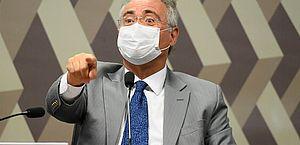 Relator da CPI, senador Renan Calheiros