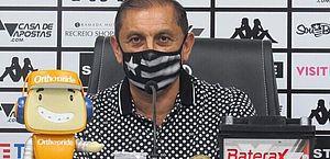 Ramón Diáz deixa o Botafogo sem comandar o time por um jogo sequer