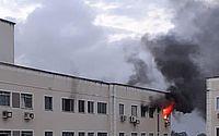 Apartamento é tomado por fogo e homem escapa ileso em Fortaleza