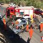 Acidente entre dois carros deixa quatro feridos em Rio Largo; veja vídeo