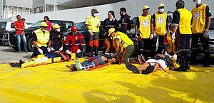 Evacuação do Pinheiro: veja as principais imagens do simulado