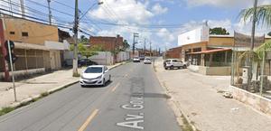 O acidente aconteceu na Avenida Governador Lamenha Filho