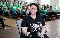 Valéria Hora pediu o fim da impunidade na morte do filho