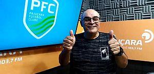 César Pita é o narrador da Rádio Pajuçara FM Maceió