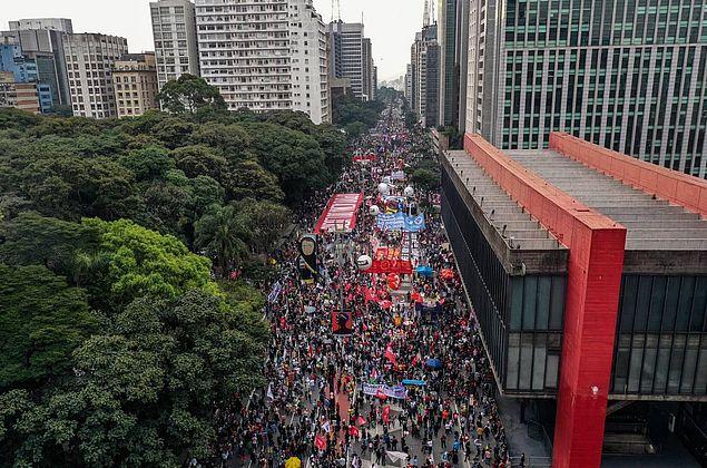 19 estados têm atos contra Bolsonaro neste sábado