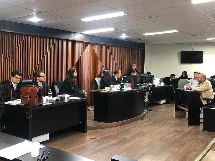 Primeira testemunha ouvida no julgamento