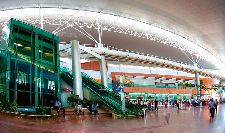 Aeroporto Internacional Zumbi dos Palmares e o terminal de entrada dos turistas que visitam Maceió