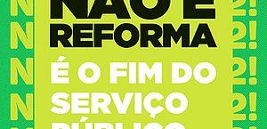 Na semana do Servidor Público, Sinfeagro reforça luta contra a Reforma Administrativa