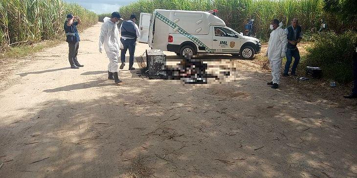 Corpo foi encontrado em estrada vicinal