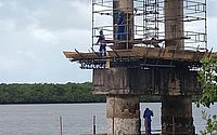 Recuperação estrutural da ponte da Ponte do Gunga é iniciada