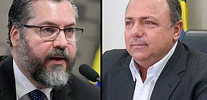Semana na CPI terá ex-ministros Ernesto Araújo e Eduardo Pazuello
