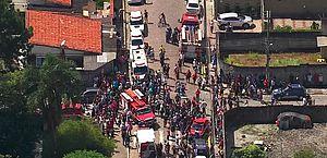 Atentado em escola que deixou dez mortos, em Suzano