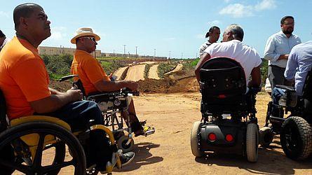 Deficientes físicos que vivem na região serão beneficiados