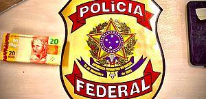 Maceió: PF prende suspeito de receber por correspondência quase R$ 3 mil em dinheiro falso