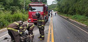 Colisão entre carro e carreta deixa motorista ferido na Utinga Leão em Rio largo
