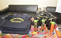 Guardas municipais recebem treinamento para uso de novos espargidores