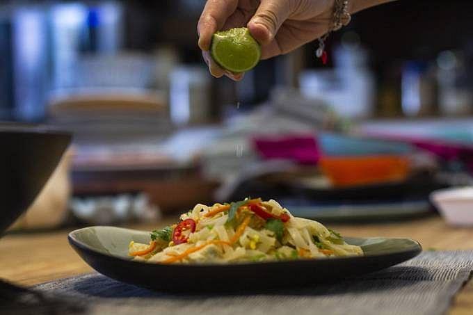 Pad thai, o prato mais famoso da Tailândia