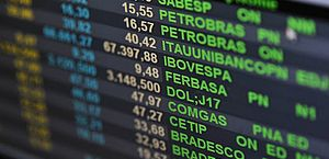 Entre os papéis com maior valorização estavam os da Localiza (6,51%), BRF (5,27%) e Cyrela (3,61%)
