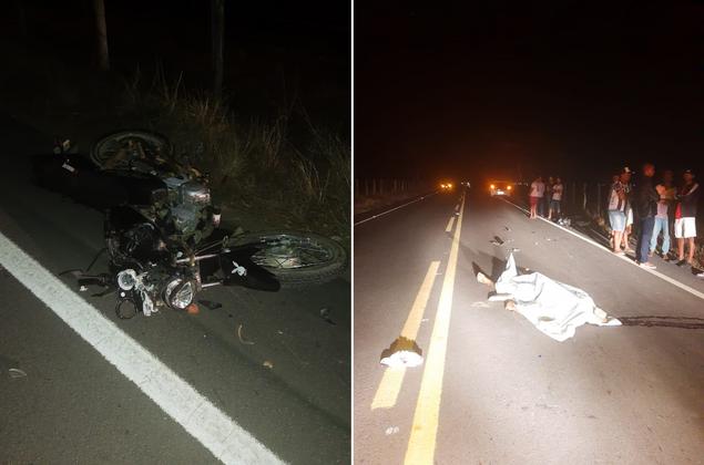 Motociclista morre ao bater de frente com carro na AL-115, em Girau do Ponciano