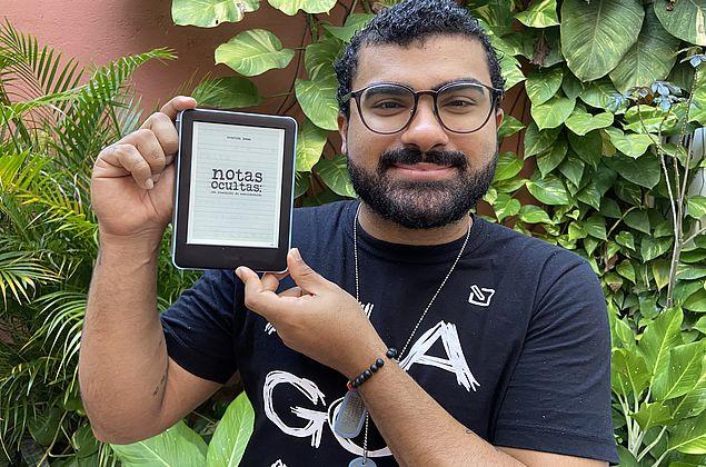 Escritor alagoano lança seu primeiro livro 'Notas Ocultas: Um Rascunho de Sentimentos'