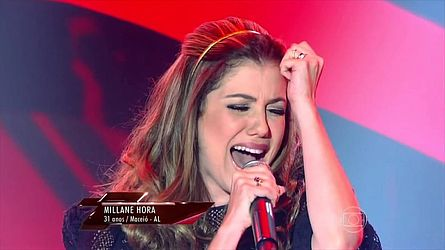 Cantora integrou o time de Cládia Leite no The Voice Brasil