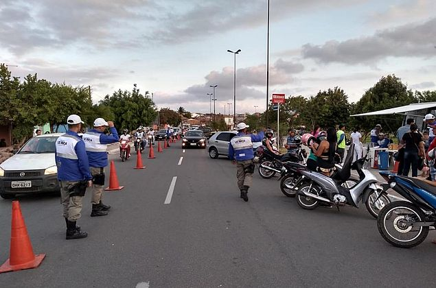 Lei Seca flagra 31 motoristas inabilitados em Arapiraca